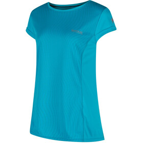 Regatta Hyper-Reflective Bluzka z krótkim rękawem Kobiety turkusowy